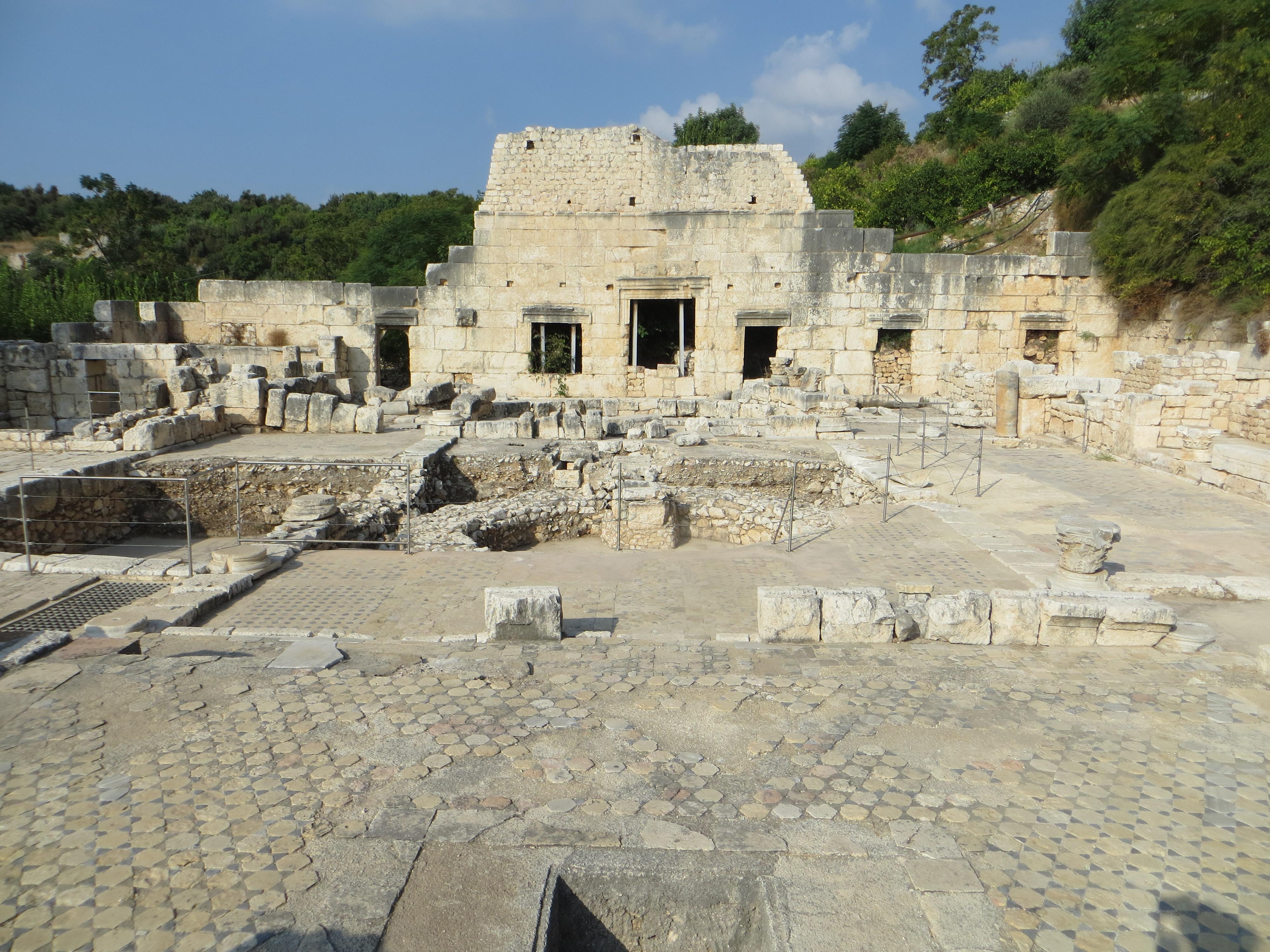 Agora-Kirche in Elaioussa Sebaste, heute Türkei