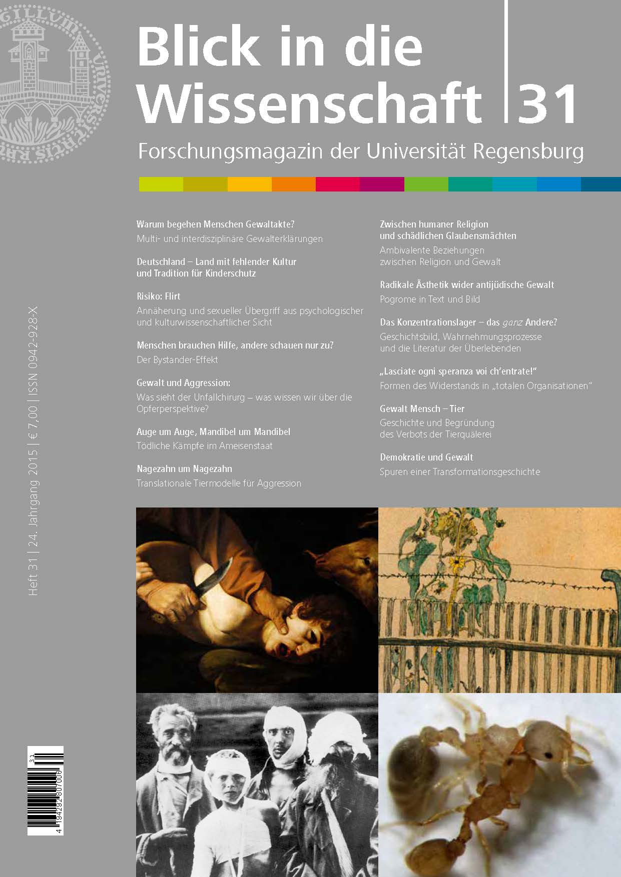 Forschungsmagazin der Universität Regensburg, Heft 31